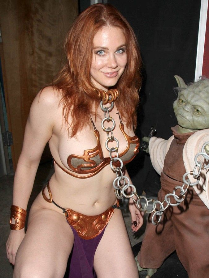 Maitland Ward hot, busty and sexy starwars