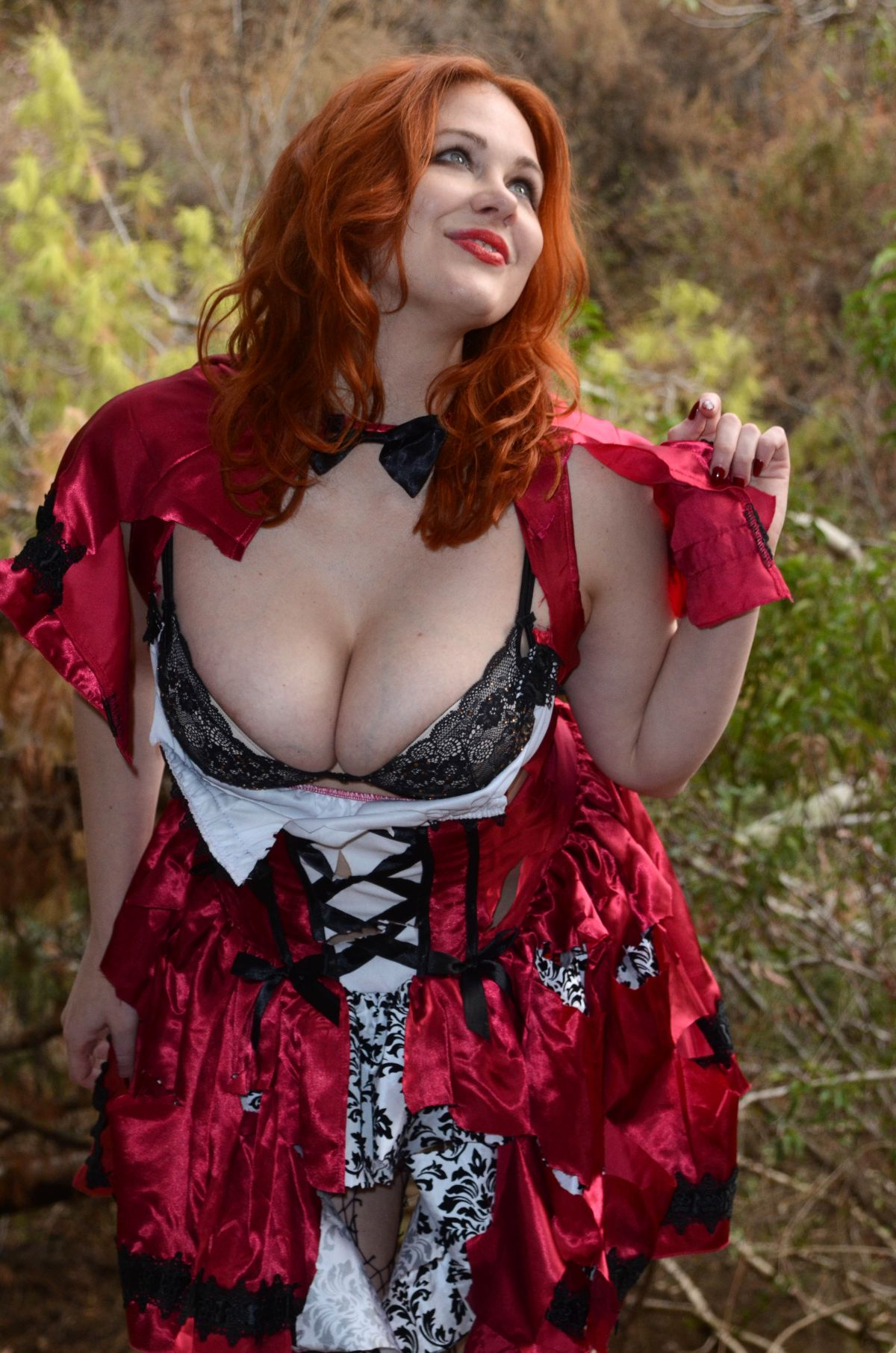 Big boobs Maitland Ward red riding hood