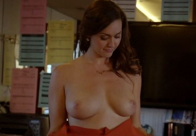 Adorable hot young star camilla luddington her great nude #boobs #exposed (TV still)