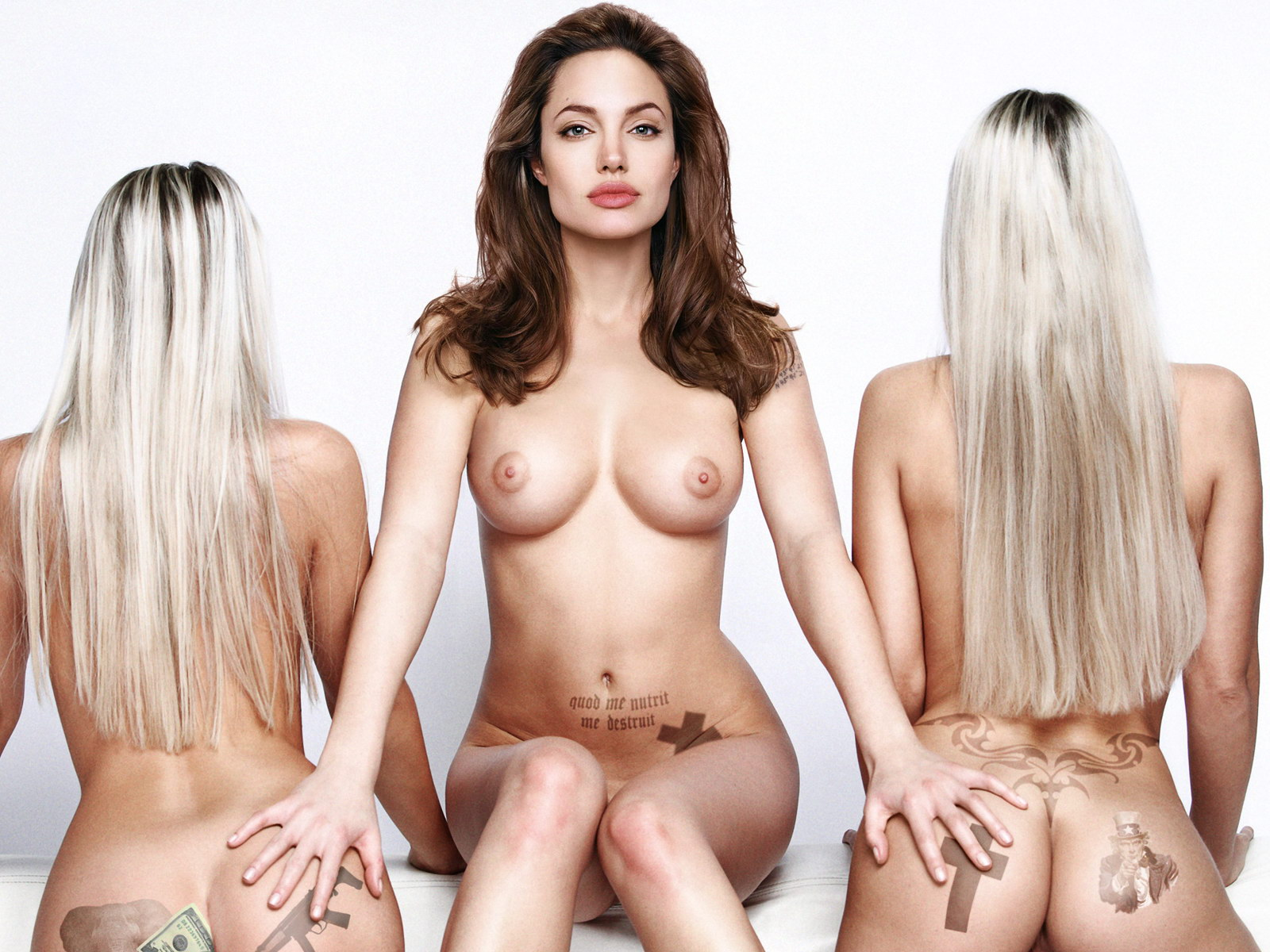 Hot and nude angelina jolie