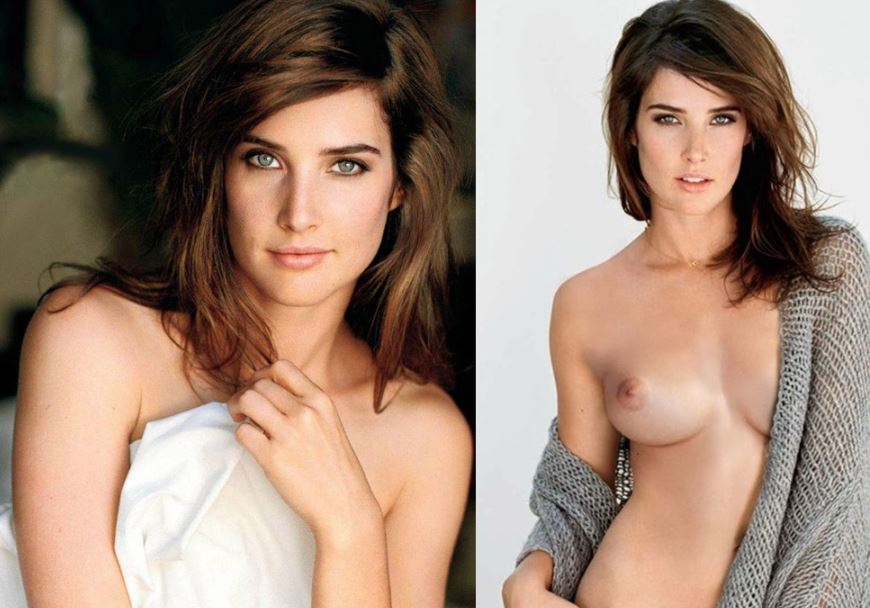 Beauty queen Cobie Smulders hot and amazing titties #topless