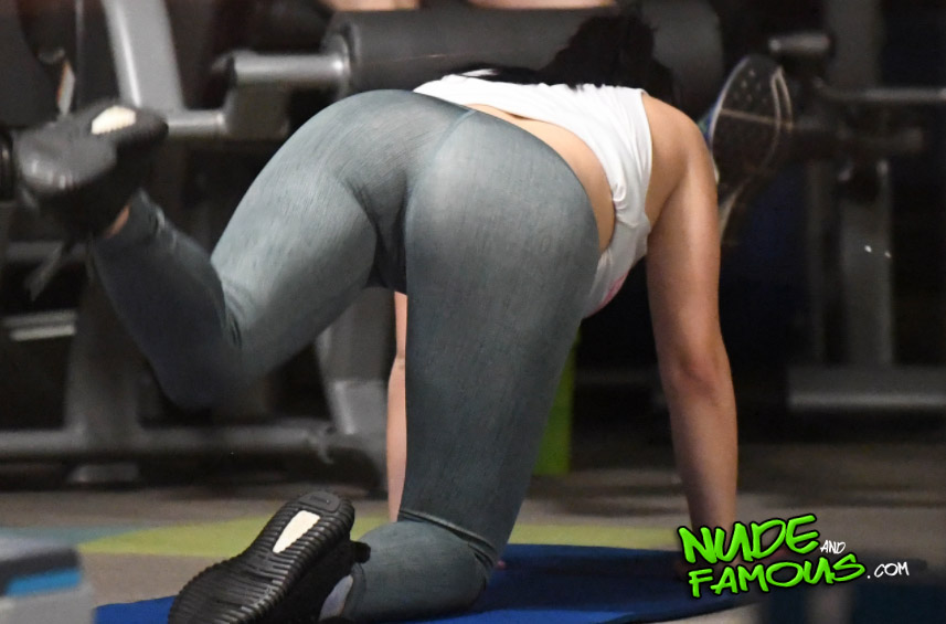 Big ass working out
