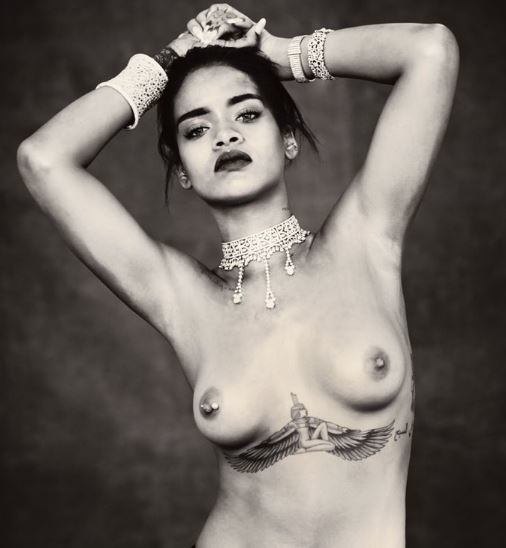 Rihanna uncensored nude pics have hit