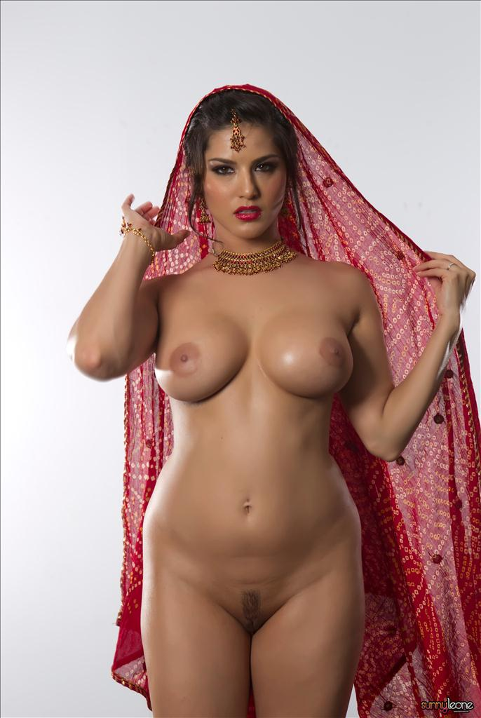 Opinion, sunny leone red nude