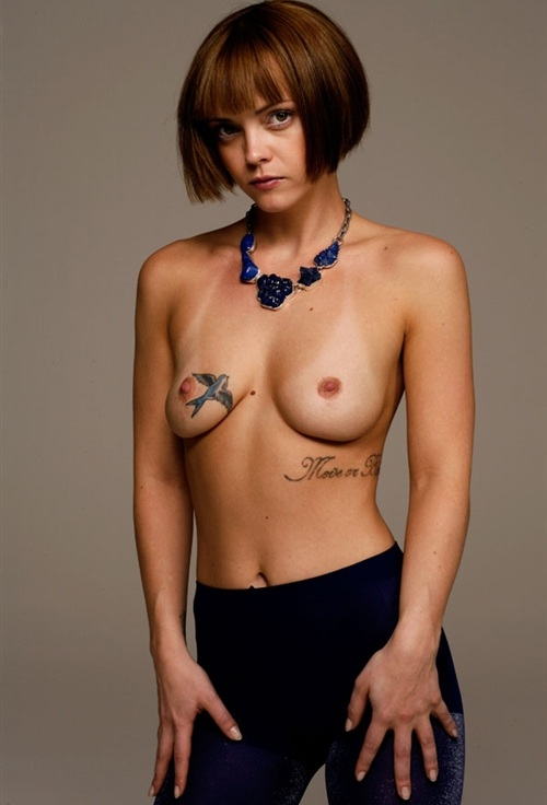 Boobs christina nude