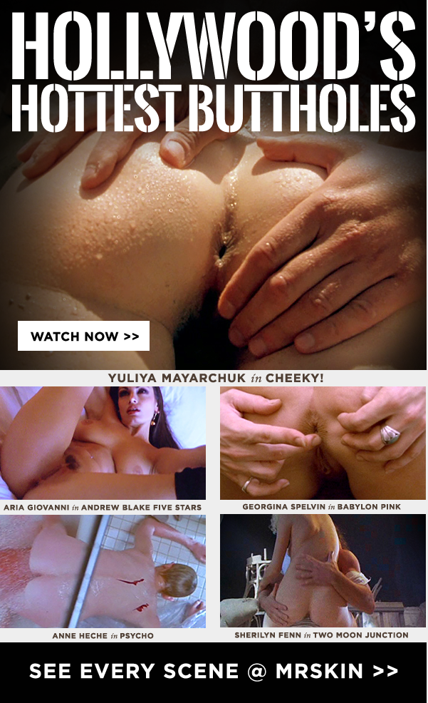 Close-up clips of Hollywood buttholes - Deep inside the dark hole... #anal