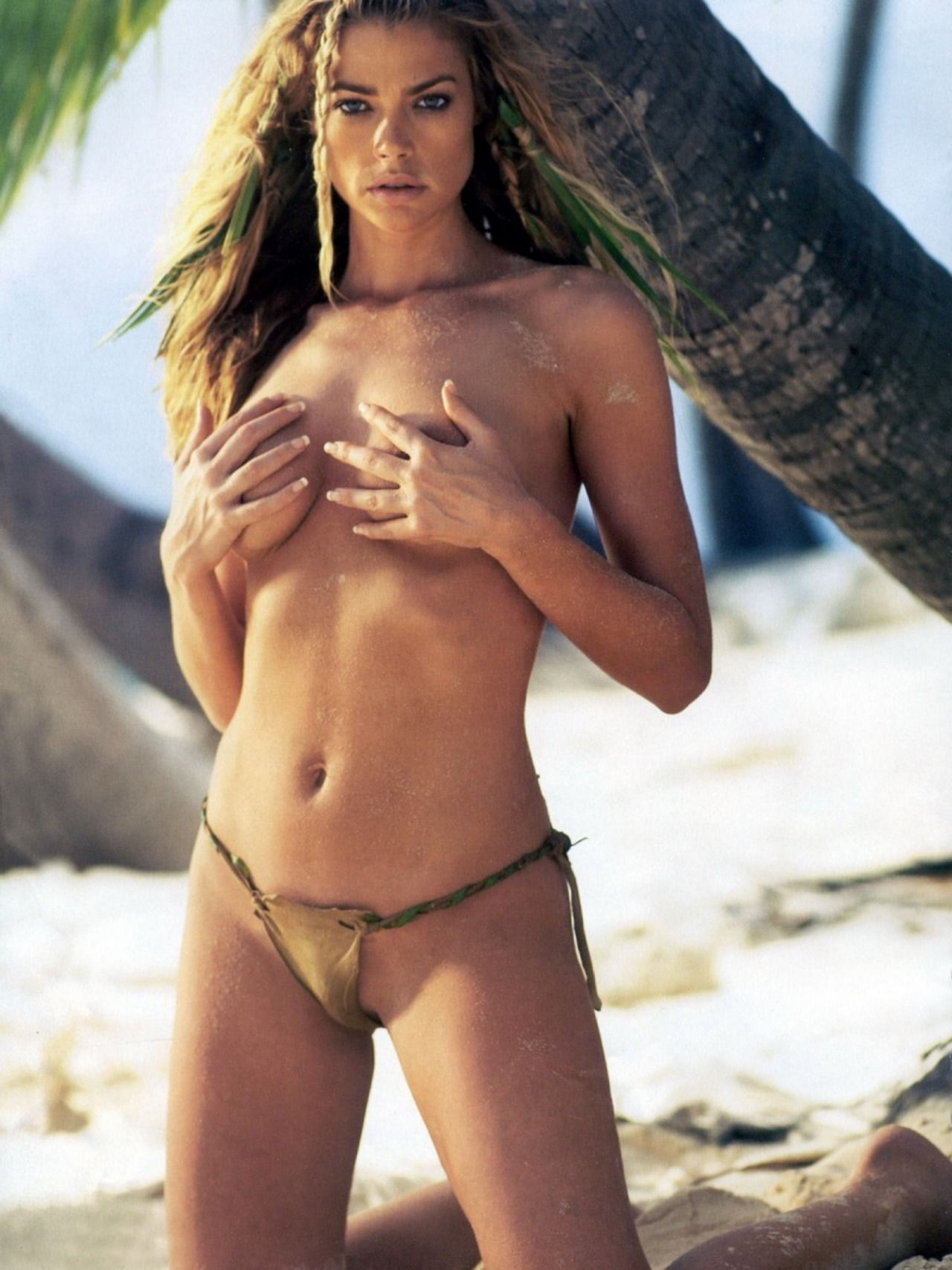 Denise richards nude beach