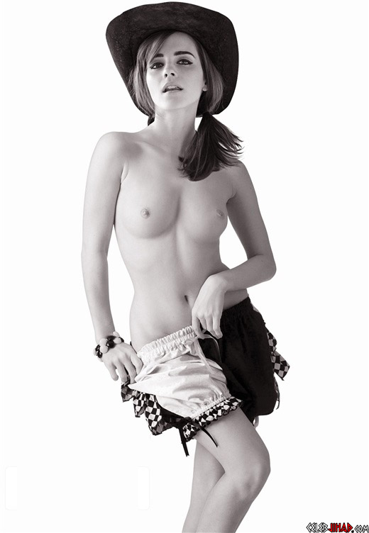 Butt watson nude naked emma