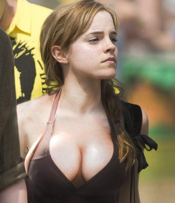 Apologise, Emma watson big fake tits porn