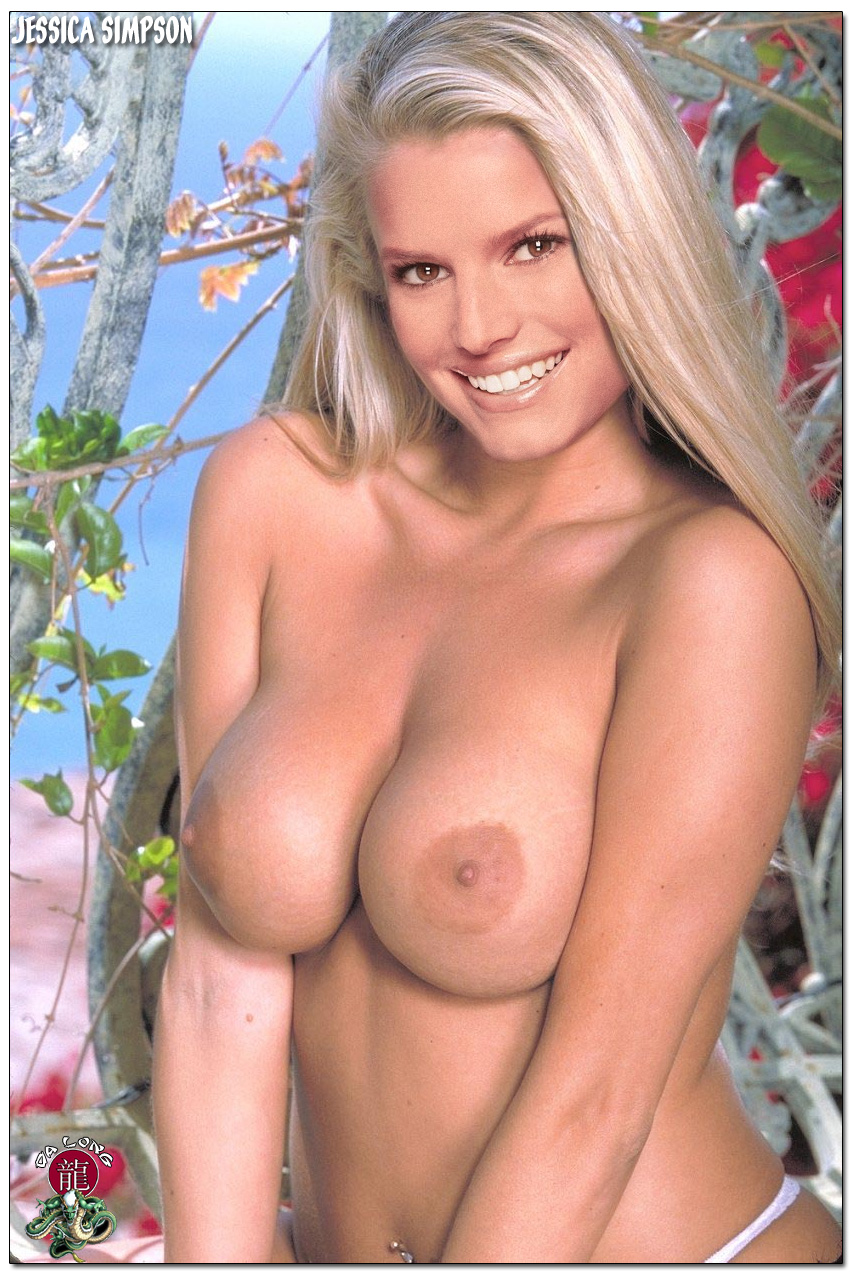 jessica simpson nude breasts