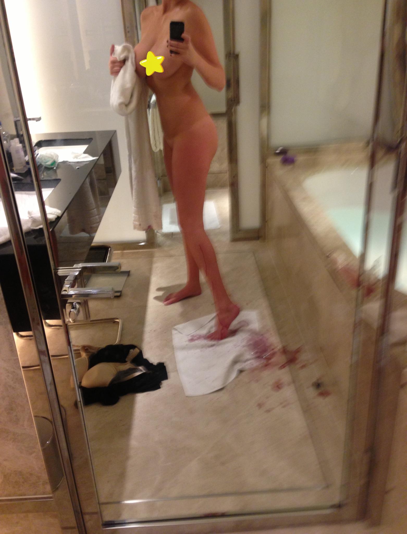kate upton nude shower
