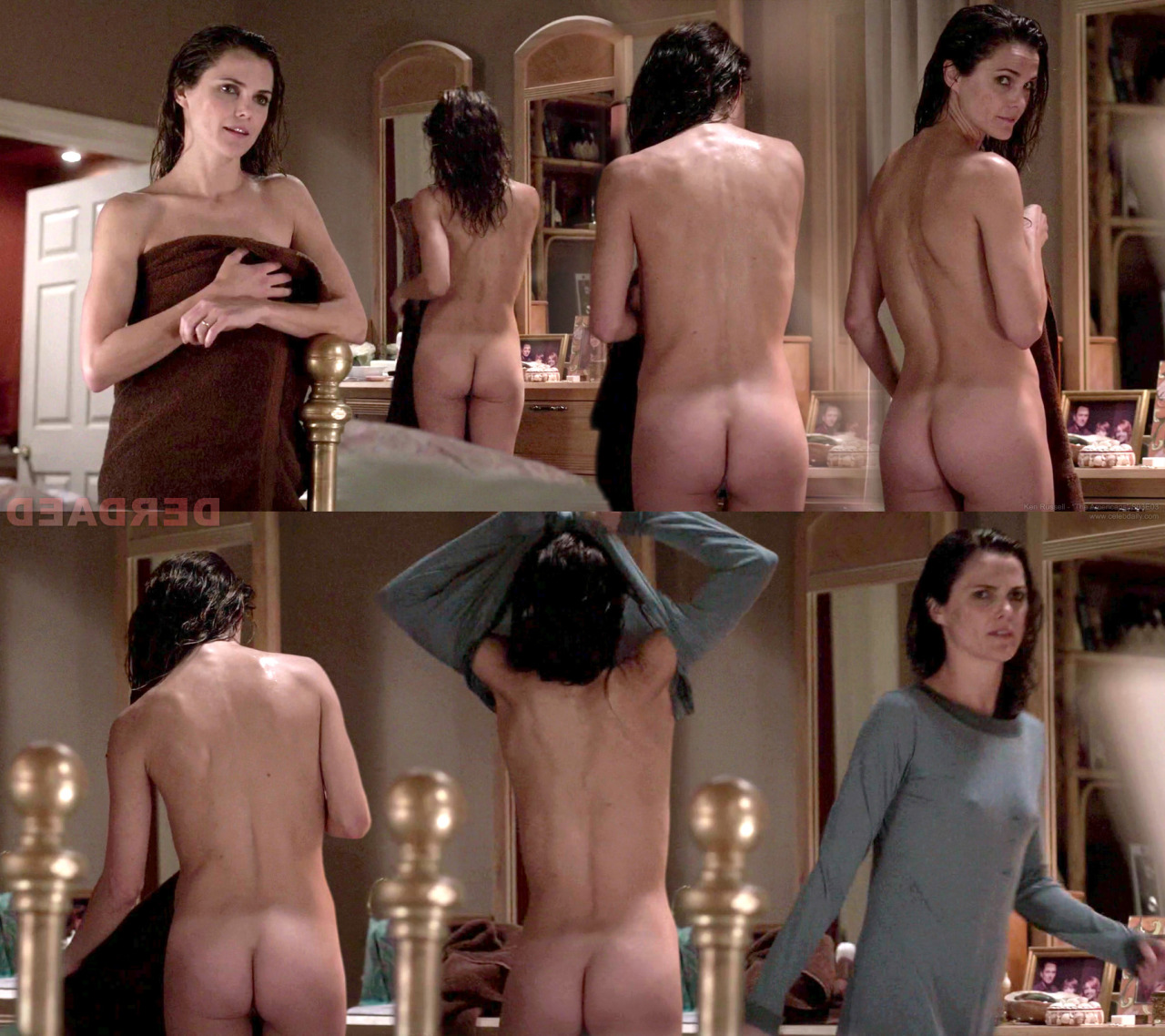 Pussy naked keri russell