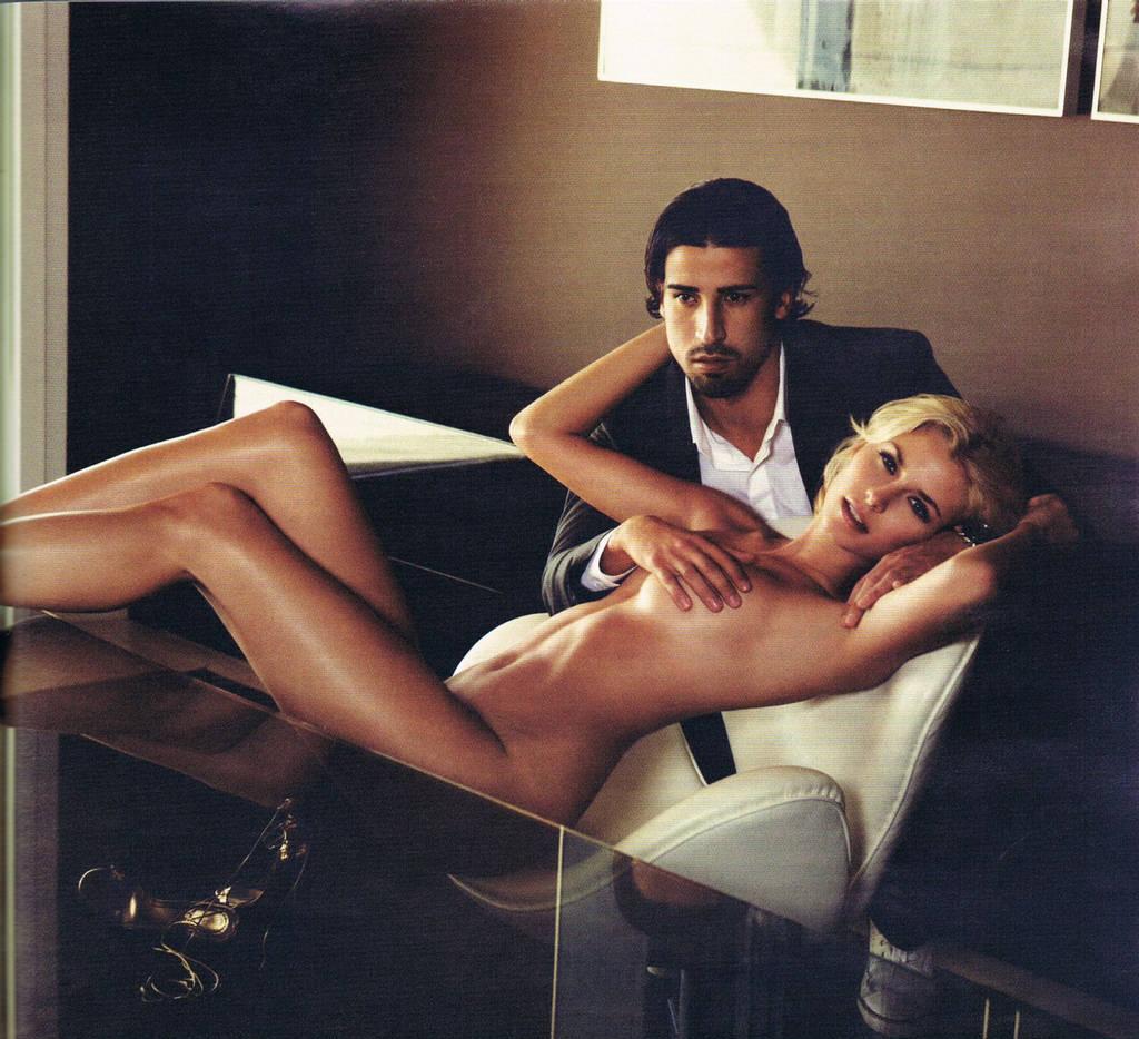 Claudia Schiffer Sex Tape celebrity! nude and famous! nude!