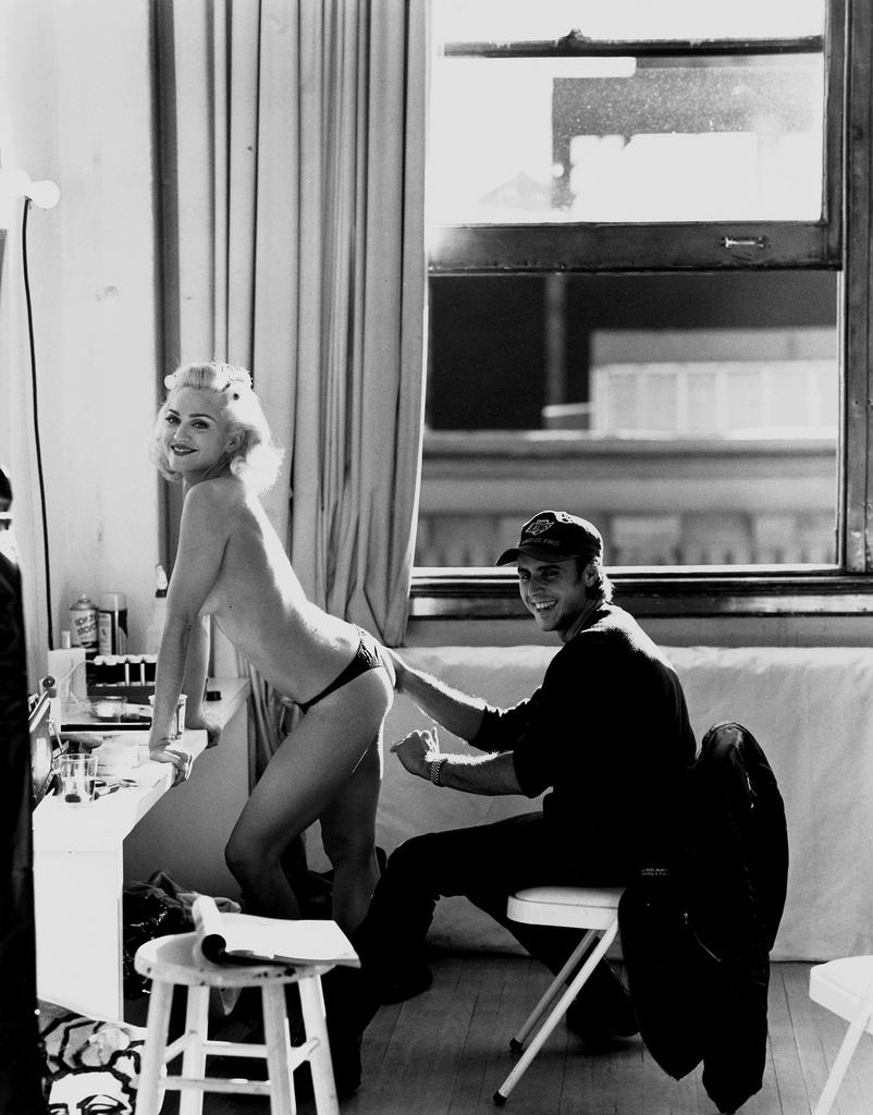 Nude sex scenes Madonna