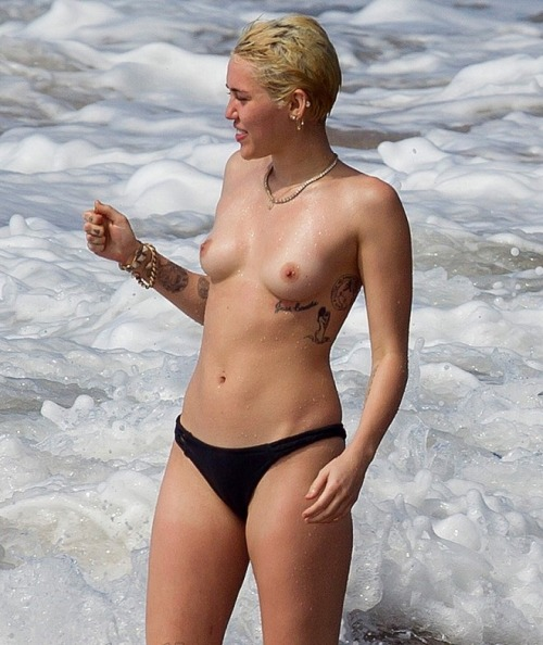 Naked celebrities like miley cyrus