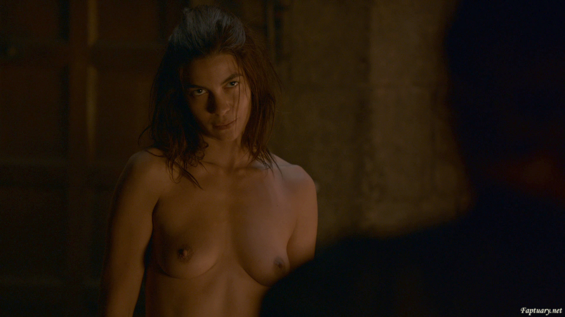 Natalia Tena tits nude Game of thrones #topless