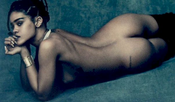 View rihanna naked photos remarkable