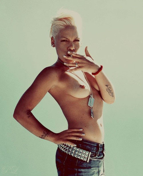 Sexy pics of pink the singer