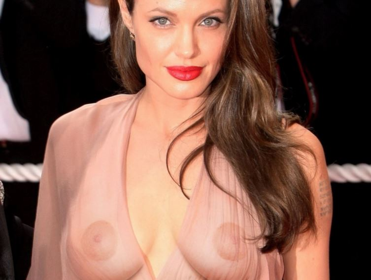 Something is. Naked angleina jolie apologise, but