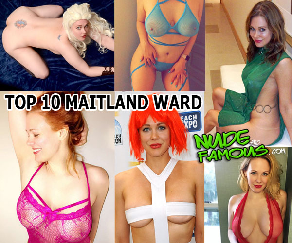 Top 10 - Maitland Ward hottest (half) naked cosplay & lingerie photos