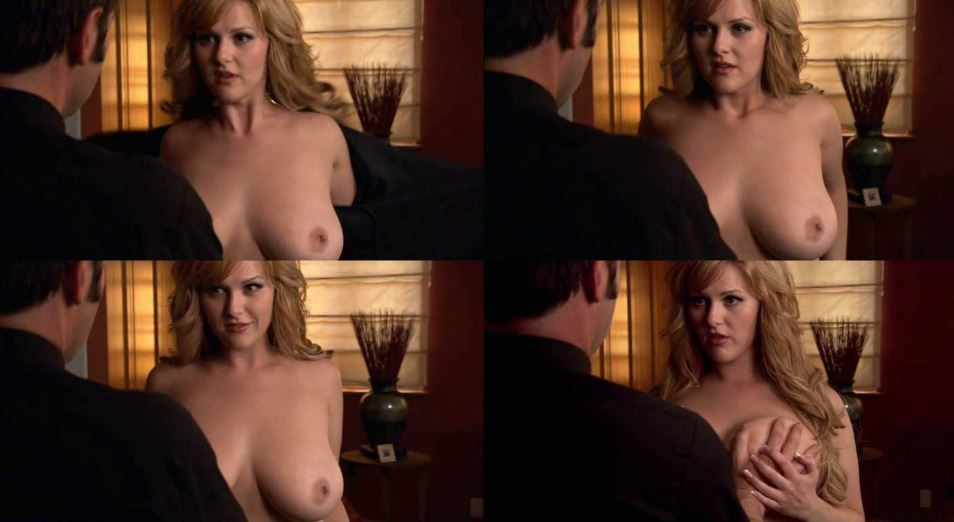 Sarah paulson nude flashes her lesbian tits